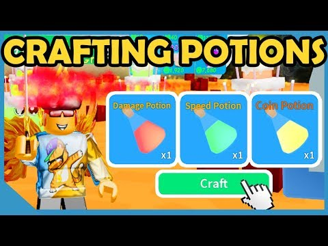 New Update! Potion Crafting! - Roblox Unboxing Simulator