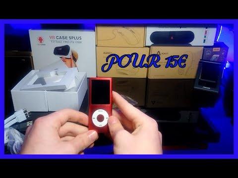 UNBOXING D'UN LECTEUR MP3/MP4 POUR 15€ ! | BONNE AFFAIRE ?
