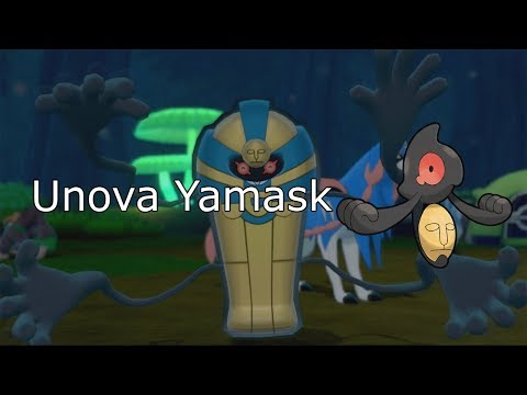 How to get Unova Yamask + Cofagrigus in Pokemon Sword and Shield