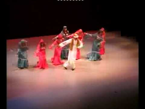 Ahmed Refaat and Nefertari in a Nubian dance (видео)