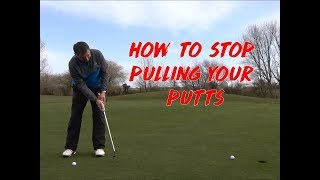 Video HOW to STOP Pulling your PUTTS MP3, 3GP, MP4, WEBM, AVI, FLV Agustus 2018