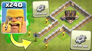Video ALL BARBARIAN ARMY vs GEARED UP CANNON!! - Clash Of Clans MP3, 3GP, MP4, WEBM, AVI, FLV Oktober 2017