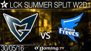 Samsung Galaxy vs Afreeca Freecs - LCK Summer Split 2016 - W2D1