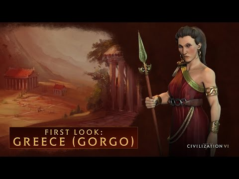 CIVILIZATION VI - First Look: Greece (Gorgo)