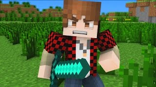"♪ ""Bajan Canadian Song"" - A Minecraft Parody of Imagine Dragons (Music Video)"