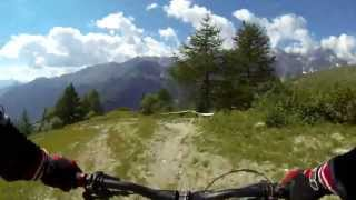 Valtournenche Italy  city photo : Trail 3 Enduro/Downhill Valtournenche AO Italy