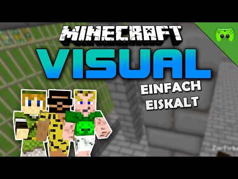 MINECRAFT Adventure Map # 49 - Visual Project 2 «» Let's Play Minecraft Together | HD