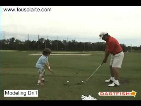 Chicago Junior Golf Lessons Modeling Chicago PGA Pro Lou Solarte