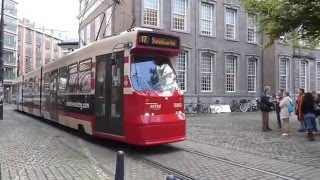 The Hague Netherlands  city images : Trams in the Hague, Netherlands 2015