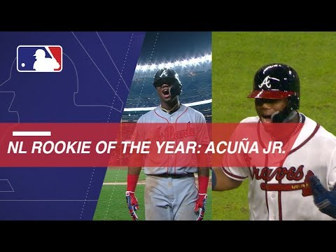 Video: Ronald Acuna Jr. named 2018 NL Rookie of the Year