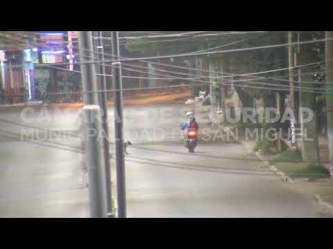 Motochorros detenidos gracias a las cámaras