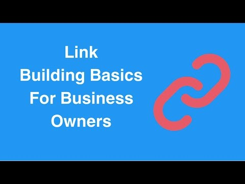 Watch 'Link Building Basics For Business Owners - 3Bug Media'