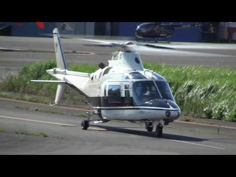Agusta A109C Taking off JA6690
