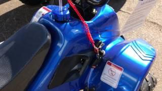 10. Tx Power Sports Present tao motor boulder b1 110 cc atv