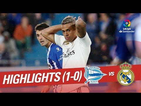 Resumen de Deportivo Alavés vs Real Madrid (1-0)