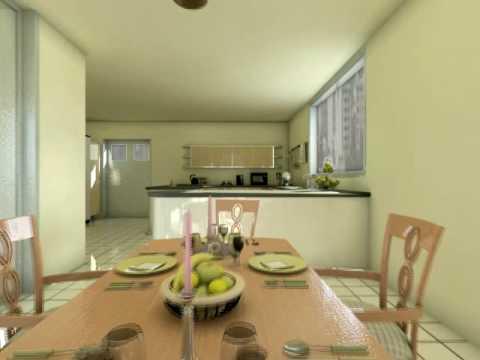 Cocinas integradas en el comedor videos videos for Ver cocina comedor