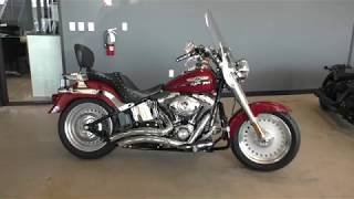 9. 060337   2007 Harley Davidson Softail Fat Boy   FLSTF Used motorcycles for sale