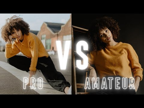 Pro vs. Amateur Photographer