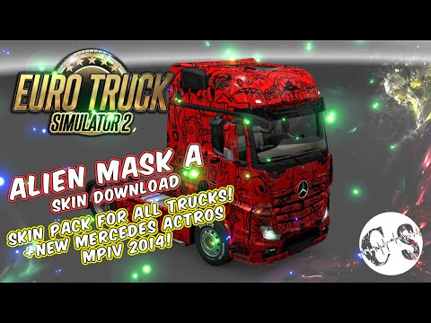 Alien Mask A Skin Pack for All Trucks