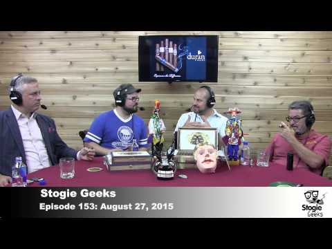 "Stogie Geeks 153 – Stogies of the Week – ""Ass-pressed"""