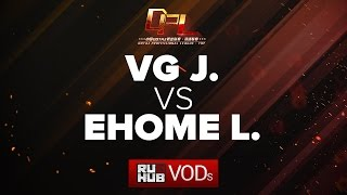 VG.J vs EHOME.L, DPL Season 2 - Div. A, game 2 [CrystalMay, Inmate]