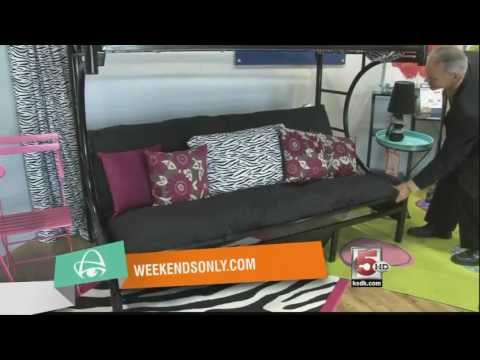 Weekends Only Furniture Outlet in St. Louis – Futon Bunk Bed