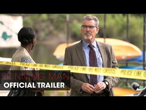 Spinning Man (2018 Movie) – Official Trailer –  Pierce Brosnan, Guy Pearce, Minnie Driver