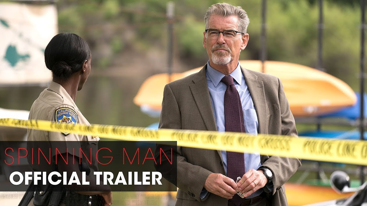 The Truth Has a Way of Turning on Guy Pearce in Psychological Mystery Thriller 'Spinning Man' (Trailer) with Pierce Brosnan & Minnie Driver
