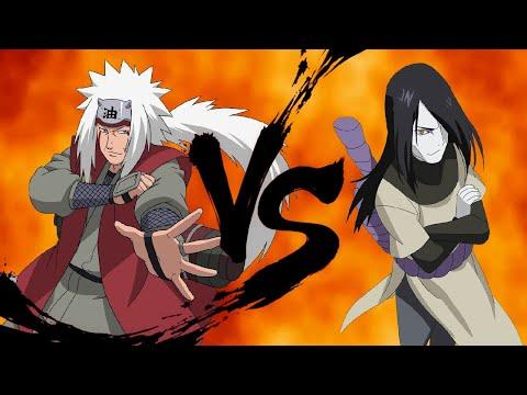 Sapo come cobra e toma picada na barriga / snakebite / Jiraiya vs Orochimaru