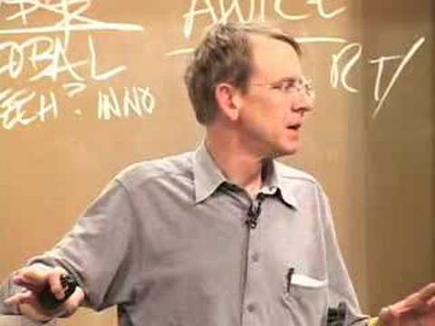 disruptive - February 2, 2005 presentation by John Doerr for the Stanford Technology Ventures Program Educators Corner in the School of Engineering at Stanford University...
