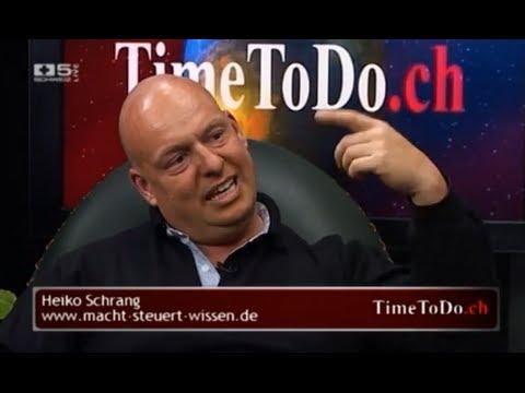 Zürich: Das Live-Interview mit Heiko Schrang im schweizer Fernsehen Teil 2