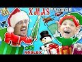 Download Video ROBLOX CHRISTMAS TYCOON! FGTEEV Toy Factory @ the North Pole w/ Christmas Songs & Holiday Swords
