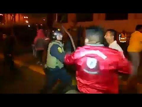 Περού: Σοβαρά επεισόδια σε αντικυβερνητική διαδήλωση