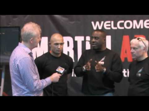 The Martial Arts Expo, Birmingham, UK interview with the Producers of the movie Law of One