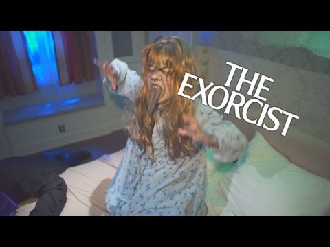 The Exorcist Maze at Halloween Horror Nights 2016 Universal Studios Hollywood