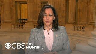 Sen. Kamala Harris says she believes Kavanaugh accuser: