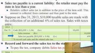 Financial Accounting: Current Liabilities&Payroll