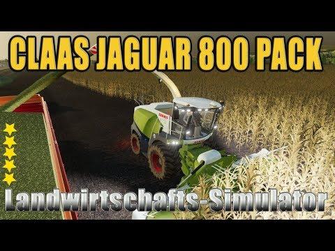 Claas Jaguar 800 Pack v1.0.0.0