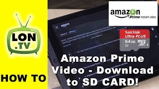 Video Amazon Netflix Alternative - How to Download Prime Video to SD Card on Android Phones and Tablets MP3, 3GP, MP4, WEBM, AVI, FLV Februari 2019