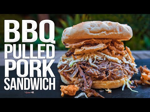 The Best (Slow Cooker) BBQ Pulled Pork Sandwich | SAM THE COOKING GUY 4K