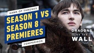 Game of Thrones Premiere Comparison: Season 1 vs. Season 8 Callbacks Breakdown by IGN