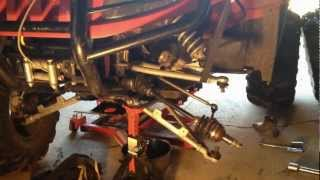 8. How to Remove Axle from Diff on Arctic Cat ATV