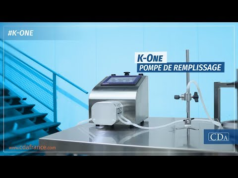 K-One - pompe de remplissage péristaltique