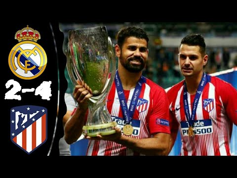 Real Madrid Vs Atletico Madrid 2-4 All Goals & Extended Highlights 15-08-2018