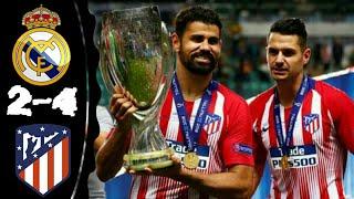 Video Real Madrid vs Atletico Madrid 2-4 All Goals & Extended Highlights 15-08-2018 MP3, 3GP, MP4, WEBM, AVI, FLV Oktober 2018