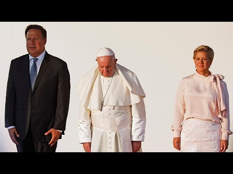 Ο Πάπας Φραγκίσκος ολοκλήρωσε το ταξίδι του στον Παναμά…