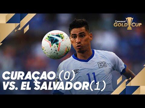 Curacao (0) vs. El Salvador (1) - Gold Cup 2019