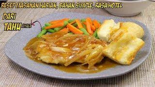 Video Resep Masakan Harian Irit ala hotel ! steak bakso ayam  tahu MP3, 3GP, MP4, WEBM, AVI, FLV Juni 2019