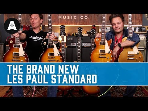 New Gibson Les Paul Standard 50s And 60s - The Best Gibson Range Yet...
