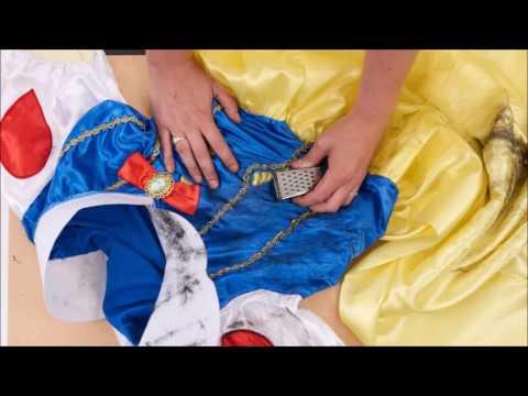 Tutorial: Peppen Sie Ihr Kostüm zu einem Halloween Disney Trash Outfit auf!